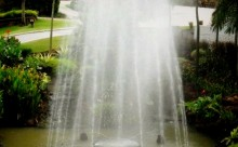 Palm Garden Golf Club Fountain