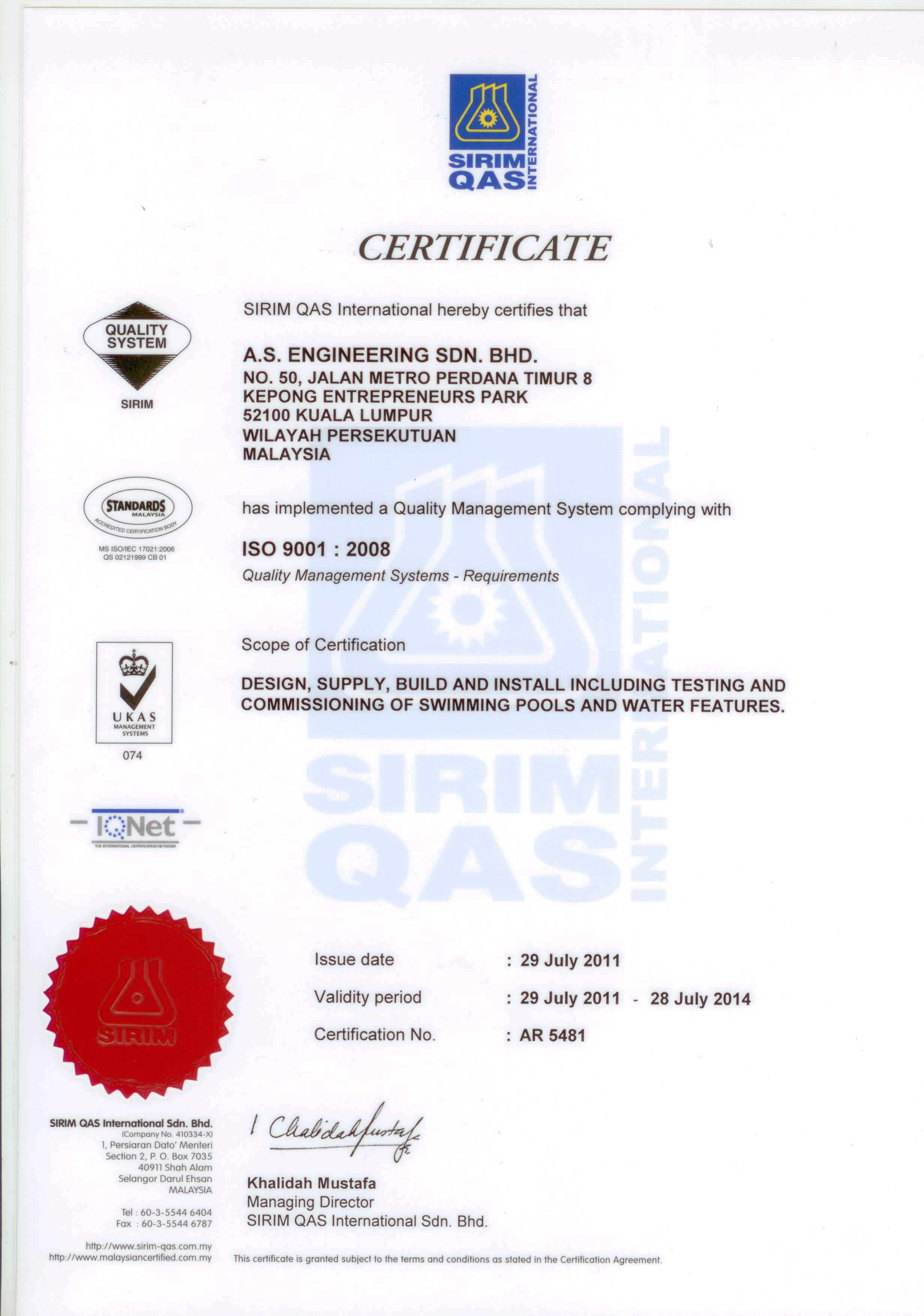Certification Ase