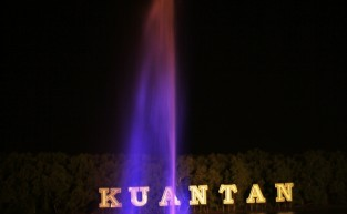 Kuantan Sea Water Shooting Fountain