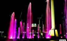 Dataran Putrajaya Dancing Fountain