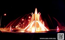 Roundabout Sultan Yusof Fountain