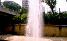 Sungai Gombak Shooting Fountain