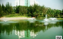 Taman Tasik Permaisuri Fountain