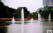 Lake Garden Fountain